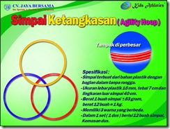 simpai ketangkasan, simpai kecepatan, lingkaran kecepatan, speed agility, hoop agility, atletik kid, atletik kit, kids athletics, peralatan olahraga anak, poa, speed agility hoop